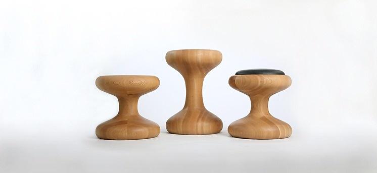 Autoban Mushroom Stool Family