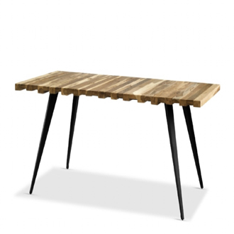 Ayush Kasliwal and Thomas Lykke Mill Table Teak