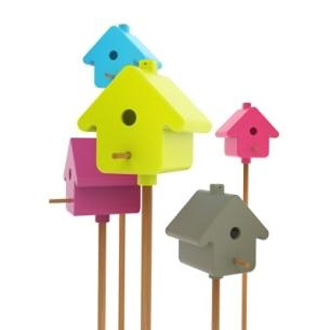 Birds For Design Birdhouse Picto