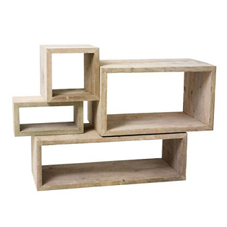 Bleu Nature Natsiq Bookcase