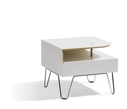 Qvarto Low Table can be used as a free standing table or linked with ...