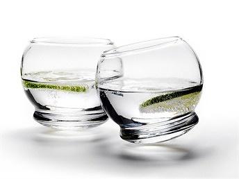 Britt Bonnesen Rocking Glass