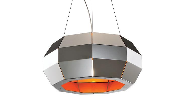 Carlo Zerbaro and Alessandro Trentin Cristal Hanging Lamp