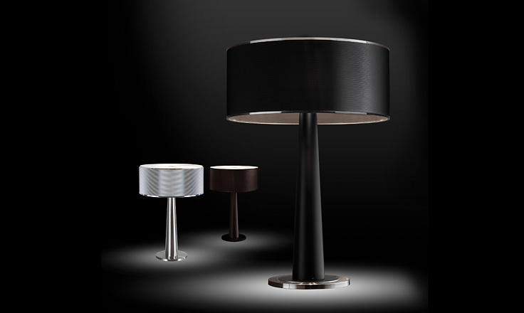 Carlo Zerbaro and Alessandro Trentin Lem Table Lamp