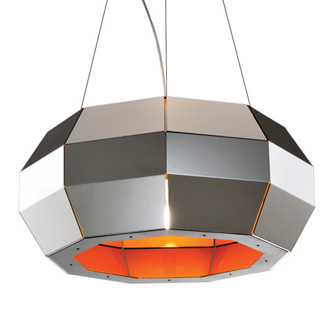 Carlo Zerbaro and Alessandro Trentin Cristal Hanging Lamp