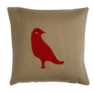 Charlene Mullen Dove Right Cushion