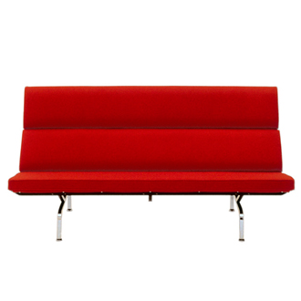 Charles Eames and Ray Eames Eames Sofa Compact