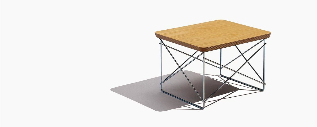 Charles Eames and Ray Eames Eames Wire-base Table