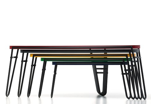 Charlotte Perriand Petalo Nesting Tables