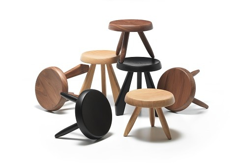 Charlotte perriand tabouret m ribel - Tabouret charlotte perriand ...