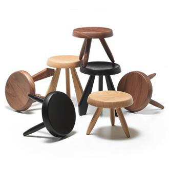 charlotte perriand tabouret m ribel. Black Bedroom Furniture Sets. Home Design Ideas