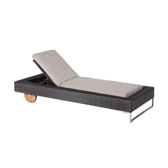 Chiaramonte marin cube chair for Bella flora double chaise lounge