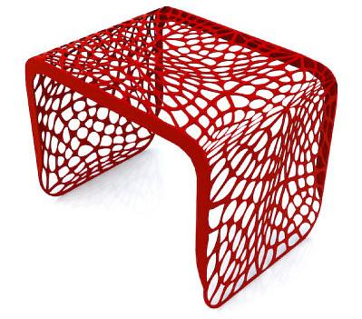 Chris Kabatsi Coral Side Table