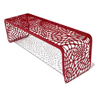 Chris Kabatsi Coral Bench