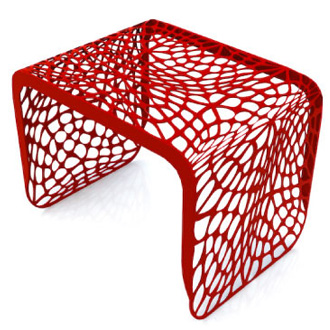Chris Kabatsi Coral Side Table
