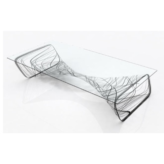 Chris Kabatsi Vortex Coffee Table