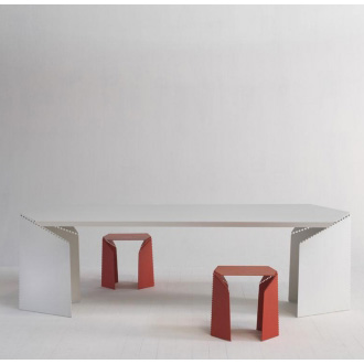 Christophe de la Fontaine and Stefan Diez Bent Table
