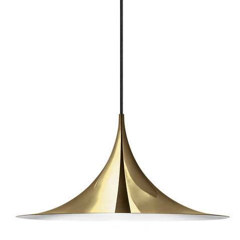 Claus Bonderup and Torsten Thorup Semi Pendant Lamp