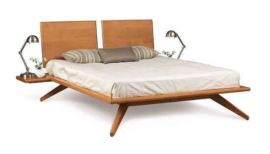 Copeland Furniture Astrid Shelf Nightstands