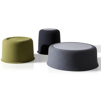 CuldeSac Bowler Low Stool
