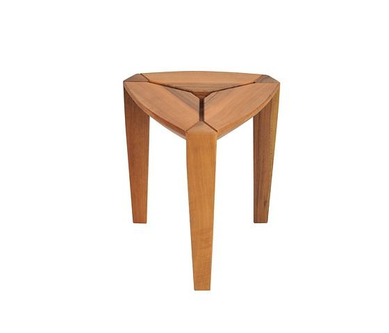 David Cassuto Tripod Table & Stool