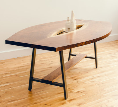David Gaynor Inverted Live Edge Table