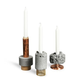 David Taylor Crowd Candle Holders