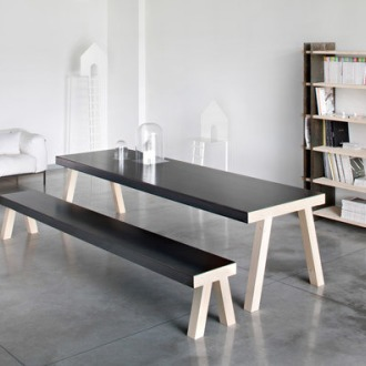 De Castelli Mastro Table And Bench