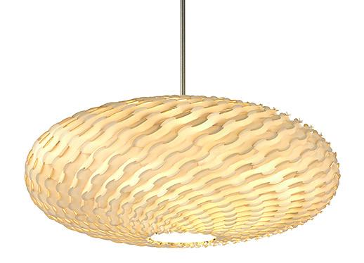 dform Spiral Saucer Lamp