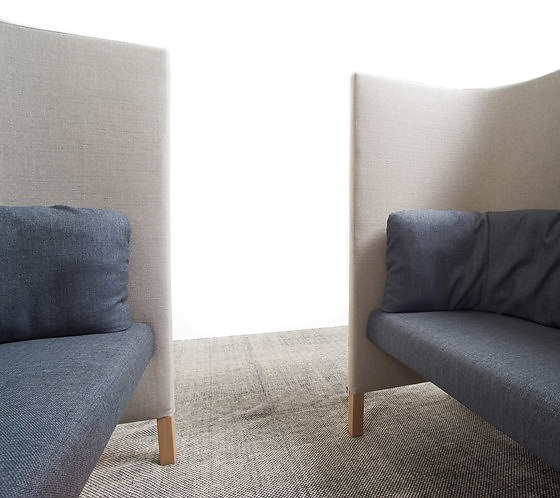 Dick Spierenburg Side By Side Work Sofa And Table