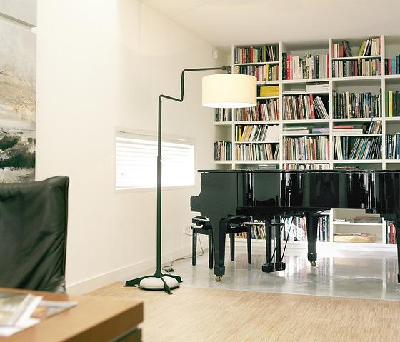 Dick Van Hoff Swivel Floor Lamp