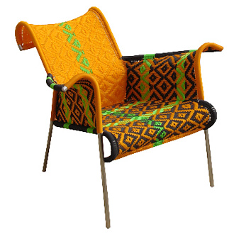 Dominique Petot Iris Chair