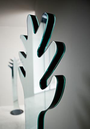 Donato D'Urbino and Paolo Lomazzi Appendispecchi Mirror