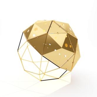 Edward Van Vliet Venetian Globe Lamp
