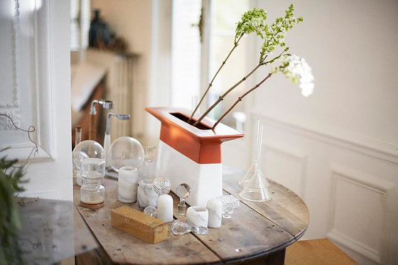 Edward Robinson Ikebana Vase