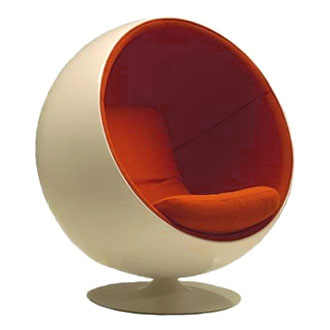 eero aarnio ball chair. Black Bedroom Furniture Sets. Home Design Ideas