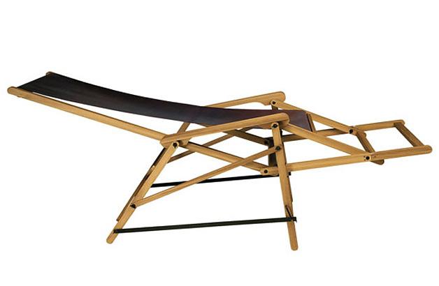 Enrico Tonucci Sedialunga Folding Chair