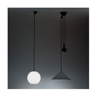 Enzo Mari and Giancarlo Fassina Aggregato Lamp