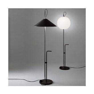 Enzo Mari and Giancarlo Fassina Aggregato Stelo Terra Lamp