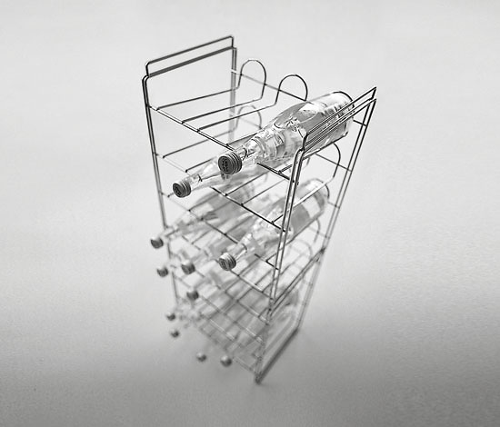 Enzo Mari Cantina Bottle-rack