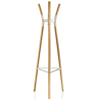 Erwan Bouroullec and Ronan Bouroullec Steelwood Coat Stand