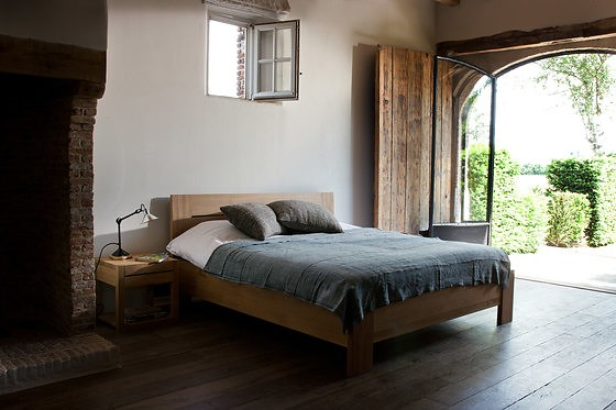 Ethnicraft Oak Azur Bed