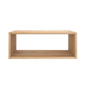 Ethnicraft Oak Cube Table Collection