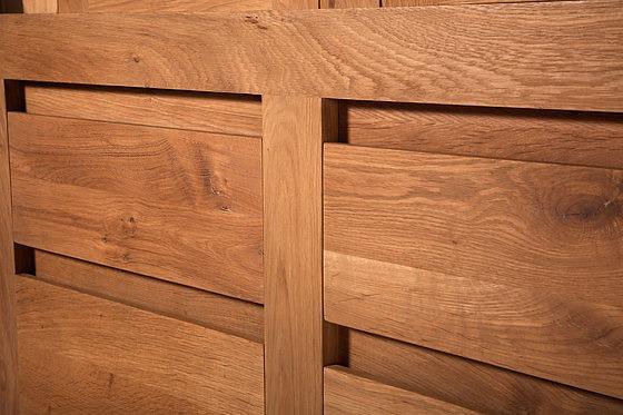 Ethnicraft Oak Flat Cabinet