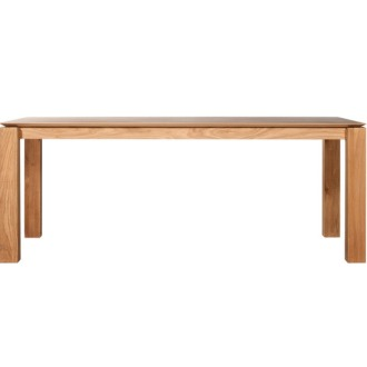 Ethnicraft Oak Slice Dining Table