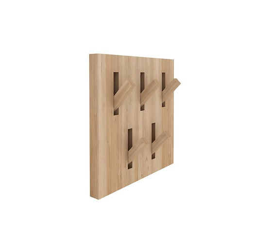 Ethnicraft Oak Utilitiles Coat Rack