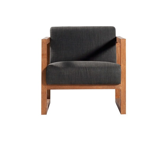 Ethnicraft Teak Square Root Armchair