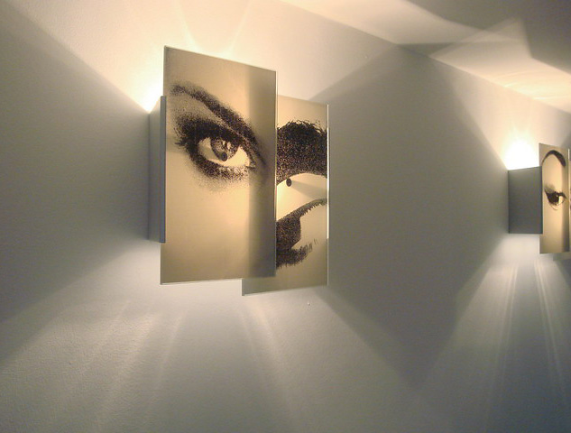 Fabrice Berrux La Foule Lamp