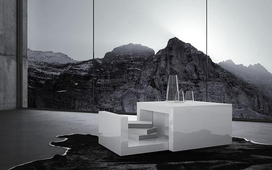 Felix Schwake Arcularius Bedside Table