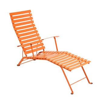 Fermob bistro chaise longue for Chaise bistro fermob